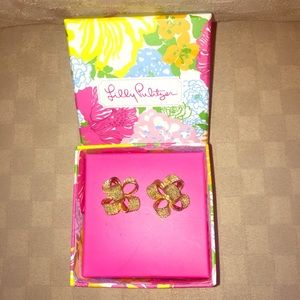 """Lilly Pulitzer """"Critter Earrings"""""""